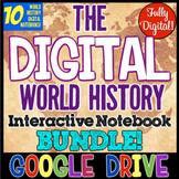 World History DIGITAL Interactive Notebooks | Distance Lea