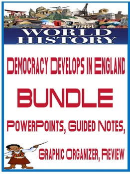 World History Democracy Develops in England Unit Bundle