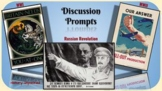 World History Discussion Prompts:  WWI, Russian Revolution, WWII