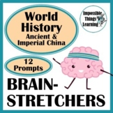 World History Discussion Questions & Writing Prompts: Ancient China