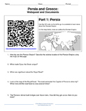 World History Document Activity: Persia and Greece
