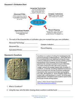 World History Document Activity-River Valley Civilizations