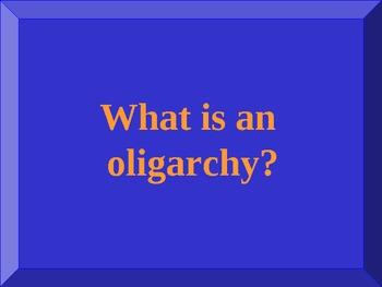 World History EOC Jeopardy