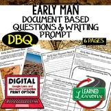 World History Early Man DBQ & Writing Prompt, Digital Dist