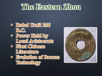 Ancient China / Civilizations, Confucianism & Taoism PowerPoint (World History)