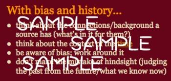 Ridgway History | World History Episode 1: Thinking Like A Historian