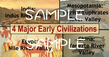 """Ridgway History   World History Episode 4: The Rise of """"Civilizations"""""""