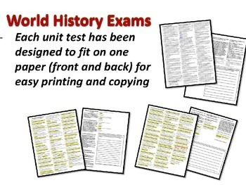 World History Exam: COLD WAR BEGINS (45-50s), 45 Qs, Common Core Inspired