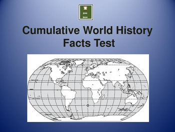 World History Facts Review