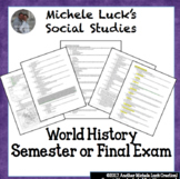 World History Final Exam 215 Questions Revolutions to Modern Day