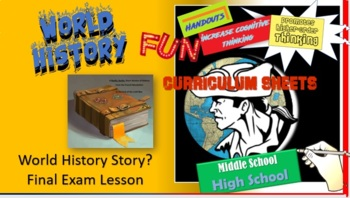 World History Final Exam (A Really, Really Short Version of World History Review