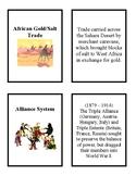 World History Flash Cards