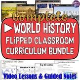 World History Flipped Classroom Bundle