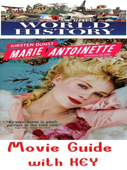World History French Revolution Marie Antoinette Movie Questions with KEY