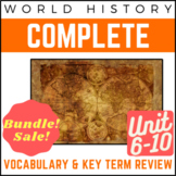 PowerPoints World History Full 6-9 Vocab. Review: Age of Imperialism to Cold War