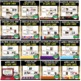 World History Game Cards BUNDLE (PART 2 Renaissance to Modern Times), 918 Cards