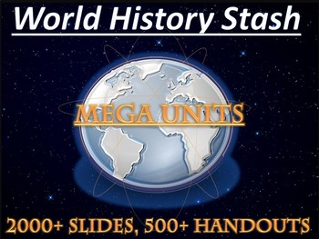 World History II Mega Unit Series (Silver): 10 Units