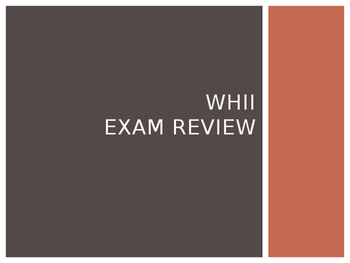 World History II Midterm Exam Review