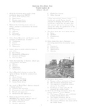 World History II Test:  Between the Wars