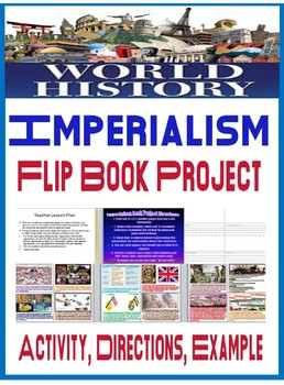 World History Imperialism Flip Book Project Directions, Printables, Example