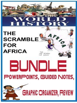 World History Imperialism Scramble Africa BUNDLE PowerPoint Activities Notes