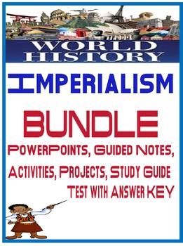 World History Imperialism Unit Bundle