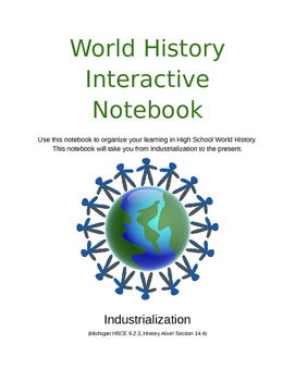 World History - Industrialization - Interactive Notebook f