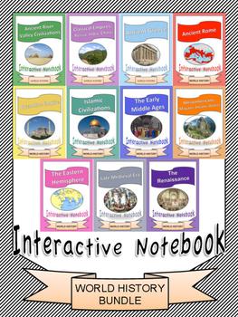World History: Interactive Notebook Bundle [11 Units!]