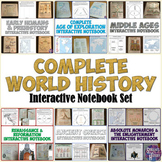 World History Interactive Notebook Bundle