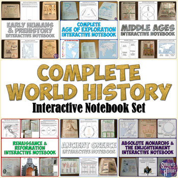 World History Interactive Notebook Bundle