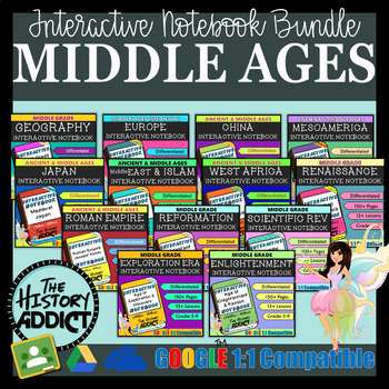World History Interactive Notebook Mega Bundle