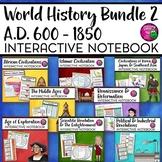 World History Interactive Notebook Social Studies BUNDLE 2
