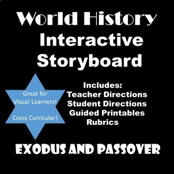 World History Interactive Storyboard Activity: Exodus and Passover