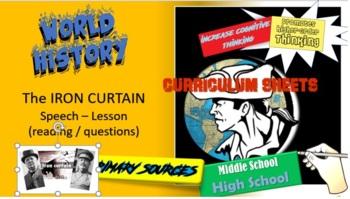World History / Iron Curtain Speech & Soviet Response