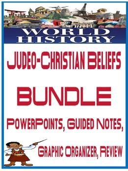 World History Judeo Christian Beliefs Unit Bundle