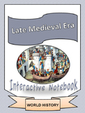 World History: Late Medieval Era Unit Interactive Notebook