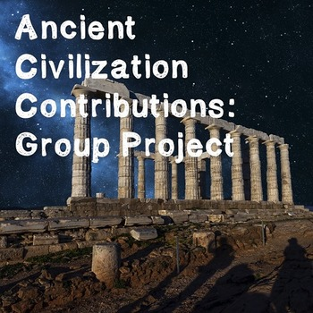 World History Lesson Plan: Contributions of Civilizations Group Project