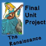 World History Lesson Plan: Final Renaissance Unit Plan Project