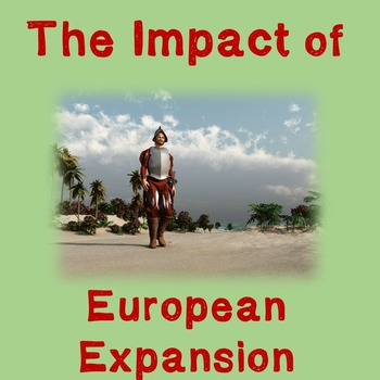 World History Lesson Plan: Impact of European Expansion