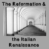 World History Lesson Plan: Reformation and the Renaissance