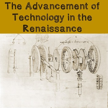 World History Lesson Plan: The Advancement of Technology i