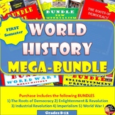 World History MEGA BUNDLE  (High School)–SAVE $$$