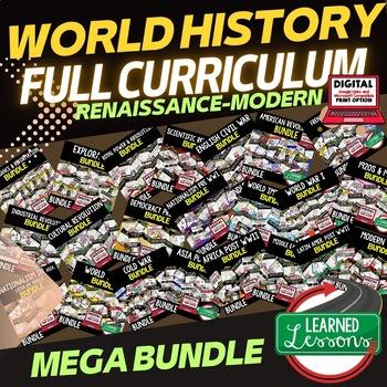 Modern world history bulletin board teaching resources teachers world history mega bundle renaissance to modern times world history curriculum gumiabroncs Choice Image