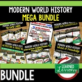 World History MEGA BUNDLE Renaissance to Modern Times (World History Curriculum)