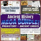 World History MEGA Bundle #1 Ancient Civilizations: Prehistory to Ancient Greece