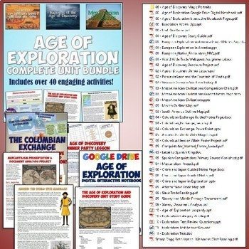 World History MEGA Bundle #2: Middle Ages to the Age of Exploration
