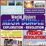 World History MEGA Bundle #4: Age of Exploration to French Revolution