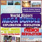 World History MEGA Bundle #4: Age of Exploration to French Revolution