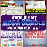 World History MEGA Bundle #5: Nationalism - World War I