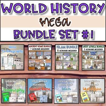 World History MEGA Bundle {Set #1}